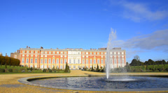 Hampton court, richmond-upon-thame s, london, england Stock Footage
