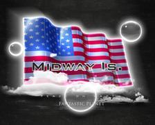 Flag MidwayIslands quality designer flag - stock illustration