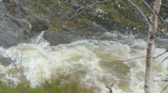 River Rapids in Scotland UK 16 - stock footage