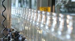 Lots of Vodka Bottles - stock footage