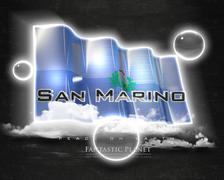 Flag SanMarino quality designer flag - stock illustration