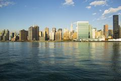 Stock Photo of Manhattan UN Building