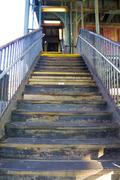 Stock Photo of Stairs to 7 Train