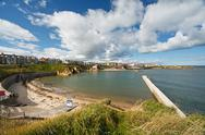 Stock Photo of cullercoats bay north east england