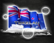 Flag Tokelau quality designer flag - stock illustration