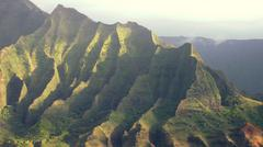 Stock Photo of Na Pali Cliffs