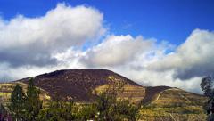 5K Beautiful Mountain Timelapse - stock footage