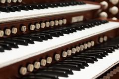 Pipe organ Stock Photos