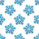 Stock Illustration of crystal and snowflakes seamless pattern background