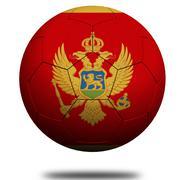 Stock Illustration of Montenegro soccer