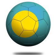 Palau soccer Stock Illustration