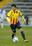 Catalan player Cesc Fabregas of Barcelona Stock Photos
