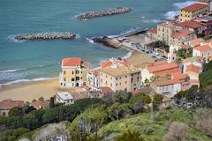 Santa maria view from castellabate Stock Photos