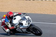 adrian gandara pilot of stock extreme of the cev - stock photo