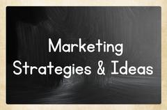 Marketing strategies & ideas Stock Illustration