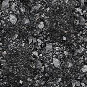 Seamless coal background grain grunge fabric abstract stone text Stock Photos