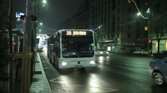 Bucharest city welcomes 2014 new year. Stock Footage