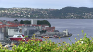Stock Video Footage of Port of  Bryggen
