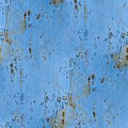Seamless texture background blue metal rust rusty old paint gru Stock Photos