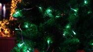 Stock Video Footage of Christmas tree light 7