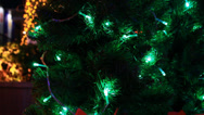 Stock Video Footage of Christmas tree light 8