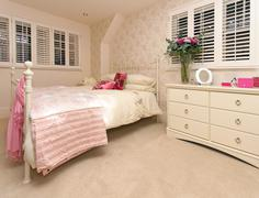 girly room - stock photo