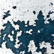 blue white wall texture paint - stock photo