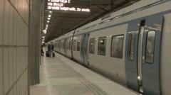 Train terminal Stock Footage
