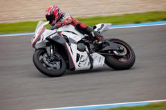 adrian gandara pilot of stock extreme in the cev - stock photo