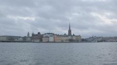 Stockholm Panorama Stock Footage
