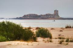 castle of sancti petri - stock photo