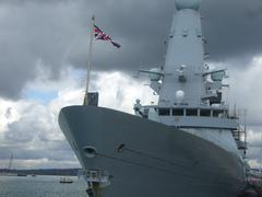 Modern Warship - stock photo
