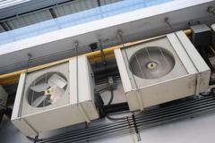 Air conditioning conditioner Stock Photos