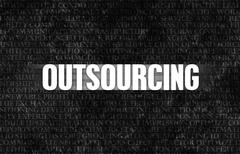 outsourcing - stock illustration