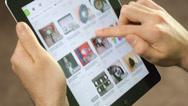 Stock Video Footage of Shoping Online With Tablet iPad - Virtual Stores