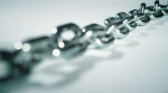 Focus On a Chain - stock footage