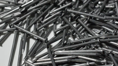 Nails building Stock Footage