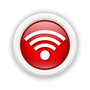 Stock Illustration of wireless sign icon