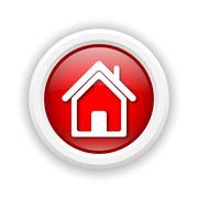 home icon - stock illustration