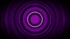 Purple Blob Wave Loop Stock Footage