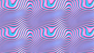 Stock Video Footage of Pink blue plastic wave scroll background