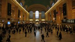 Grand Central Terminal Main Terminal Stock Footage