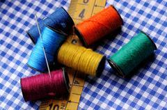 Dressmaking tools Stock Photos