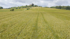 AERIAL: Tuscany landscape Stock Footage