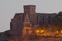 castillo - fortaleza  de aracena / castle - fortress of aracena - stock photo