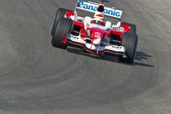Official training session of formula one , 2005 Stock Photos