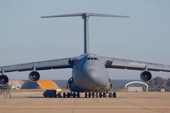Transporting airplane Stock Photos