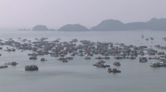 Houseboats Stock Footage