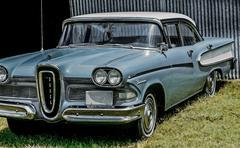 Edsel car that failed Stock Photos