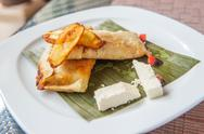 Stock Photo of tamales, traditional mesoamerican dish